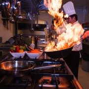 Tagrisk Insurance Services - Restaurant Safety Burns Fire Flames in Kitchen
